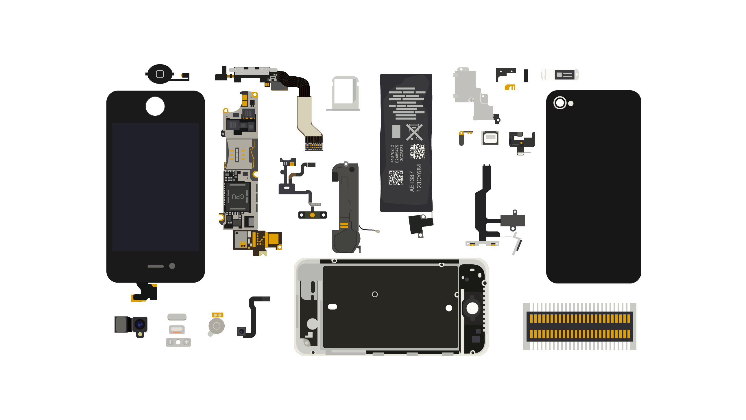 smart phone electronic parts cell doc