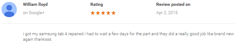google review phone repair