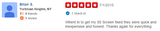 Yelp Review Phone Repair